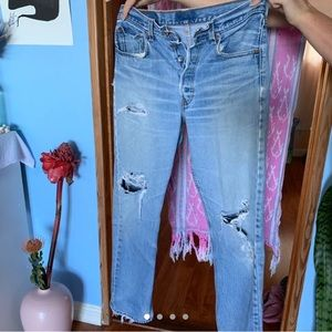 [Listed on my Depop] 501 Levi's jeans